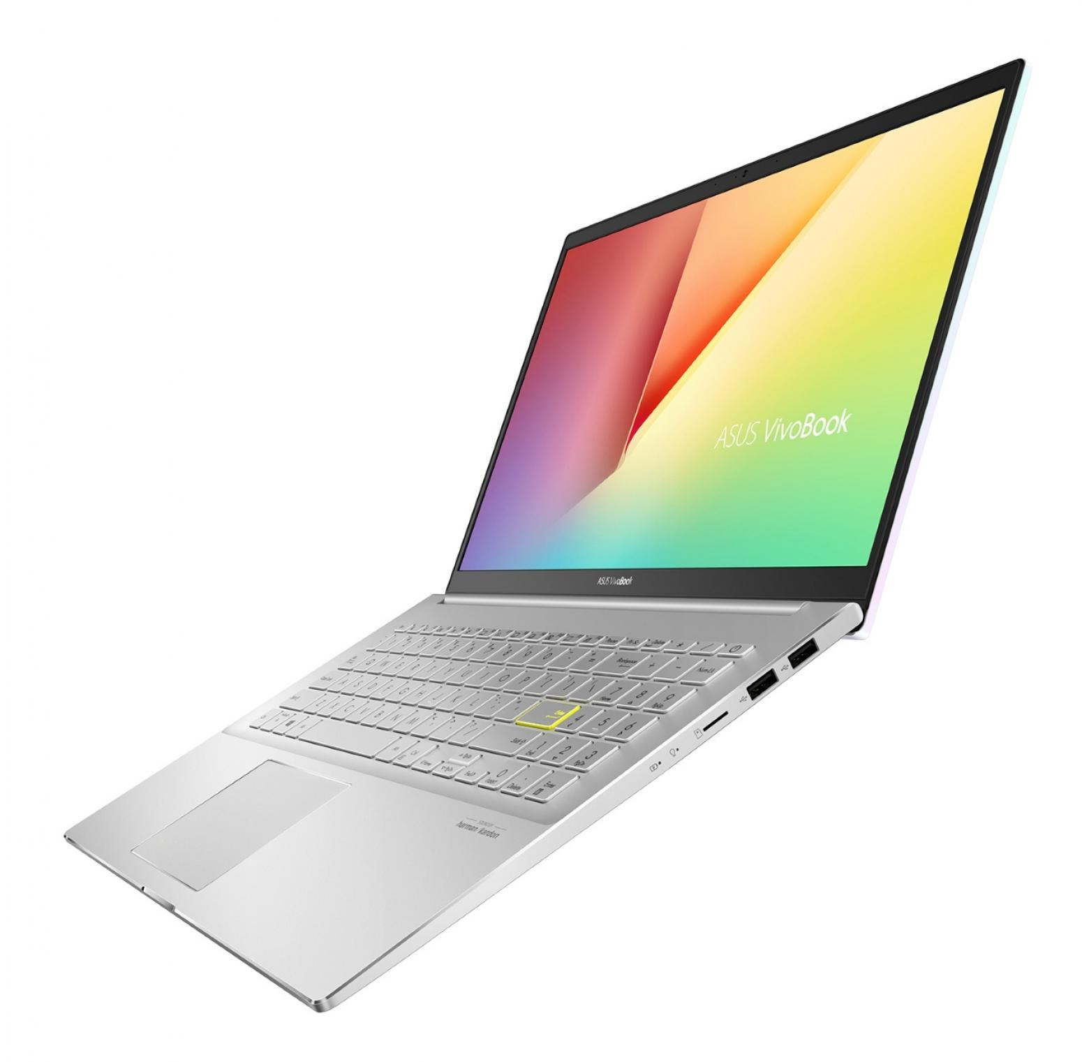 Ordinateur portable Asus Vivobook S533IA-BQ148T Dreamy White - Ryzen 5 Hexa Core - photo 6