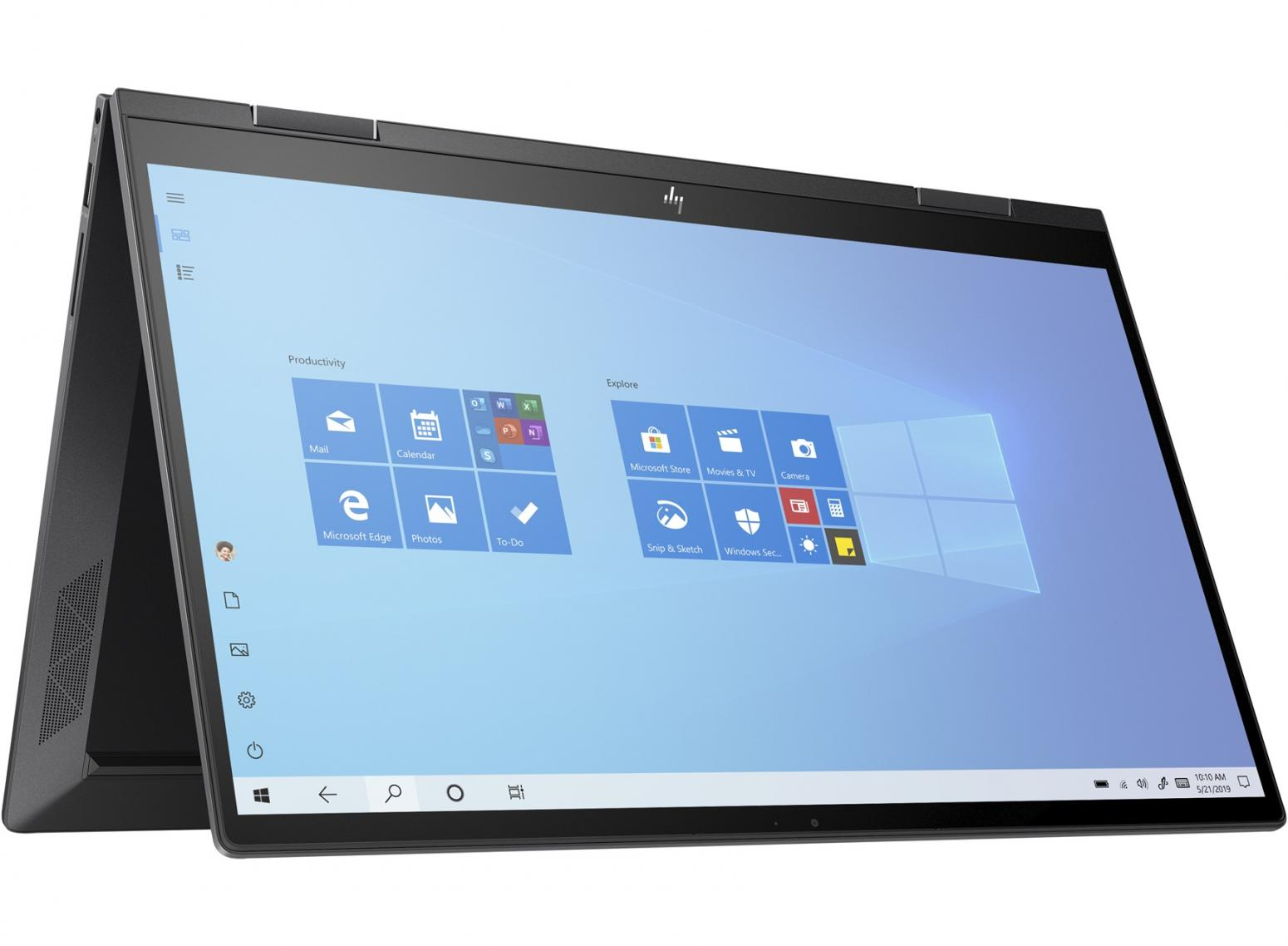 Image du PC portable HP Envy x360 15-ee0012nf Argent - Tactile, Ryzen 5 Hexa Core