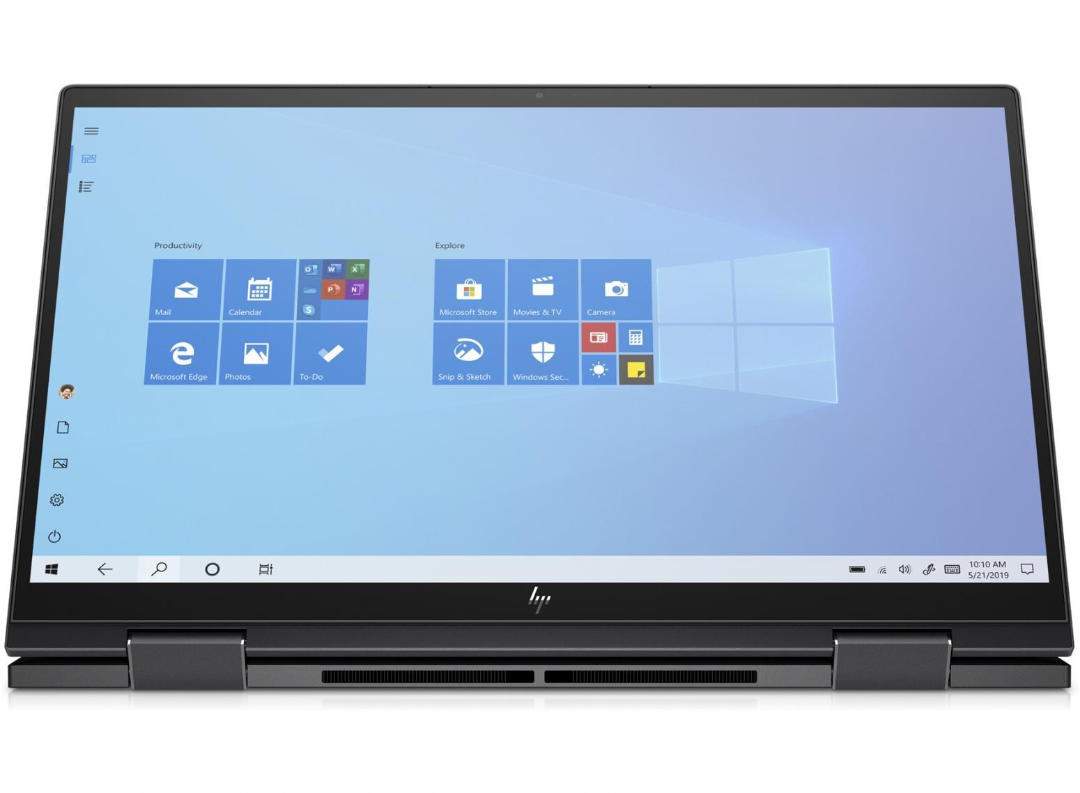Ordinateur portable HP Envy x360 15-ee0012nf Argent - Tactile, Ryzen 5 Hexa Core - photo 2
