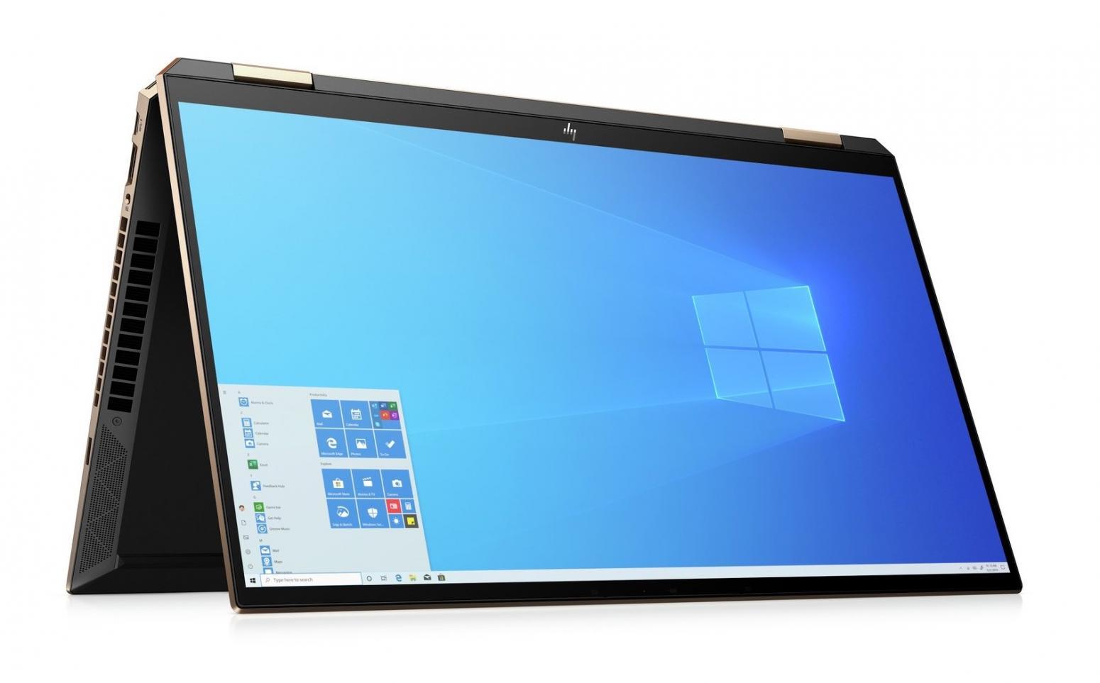 Image du PC portable HP Spectre x360 15-eb0013nf Noir - Tactile 4K OLED, GTX 1650 Ti Max-Q