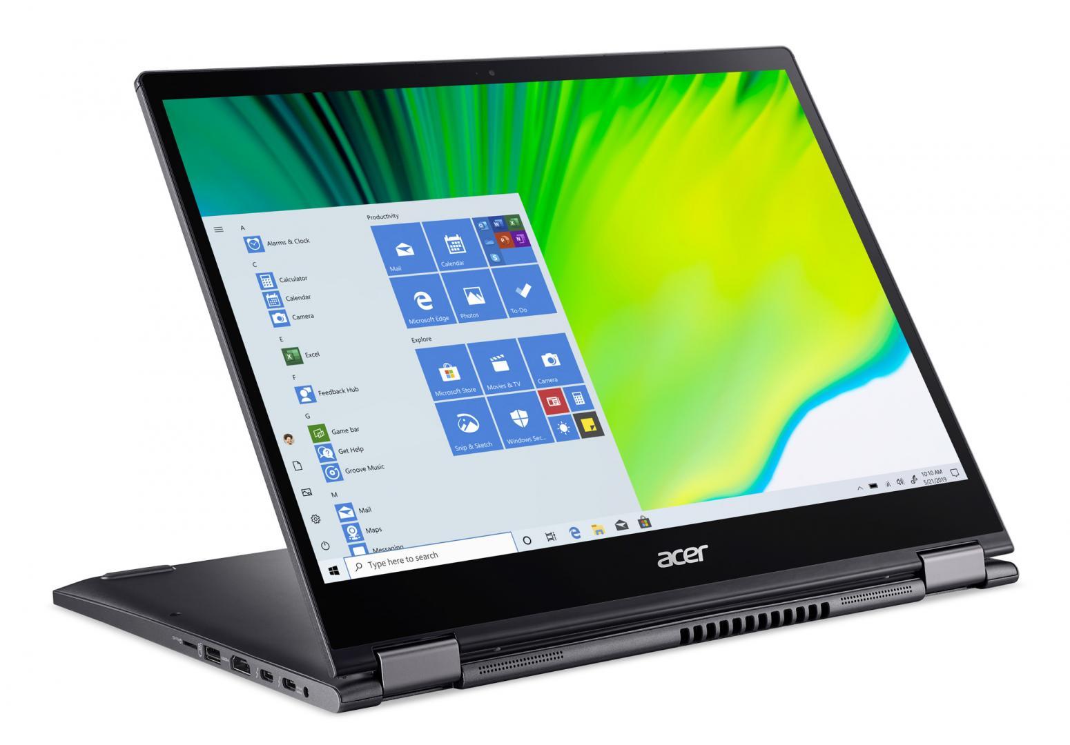 Ordinateur portable Acer Spin 5 SP513-54N-58VU Gris - QHD Tactile, Stylet - photo 2