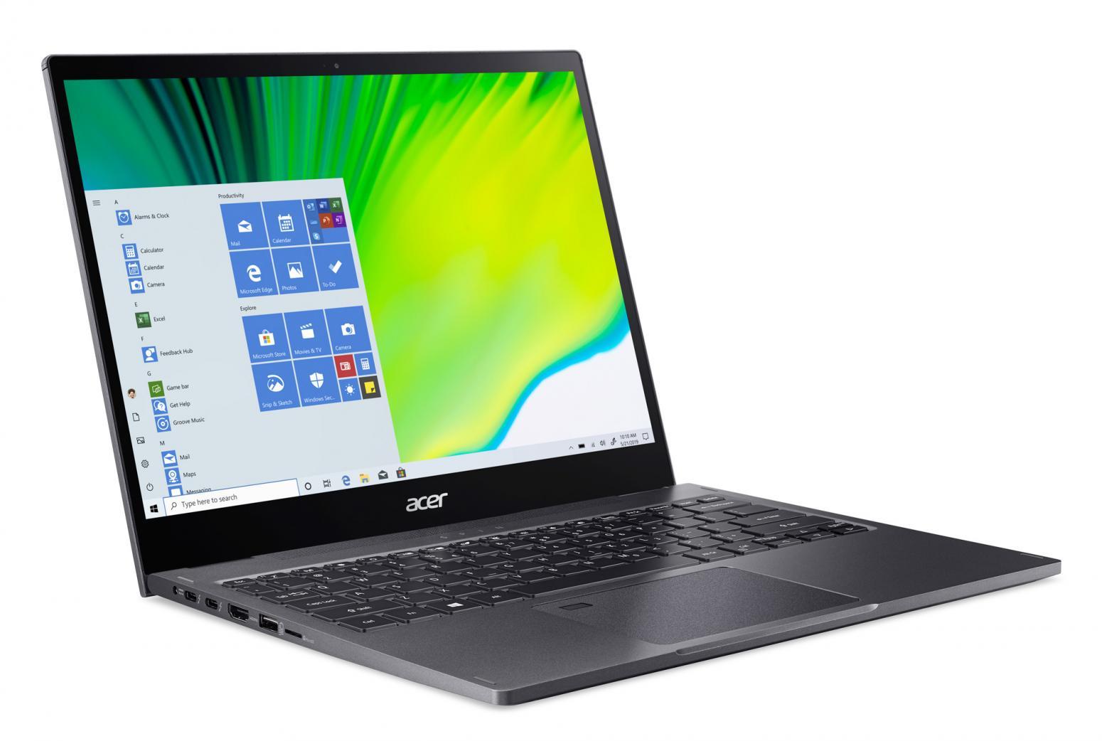 Ordinateur portable Acer Spin 5 SP513-54N-59ED Gris - QHD Tactile, Stylet - photo 3