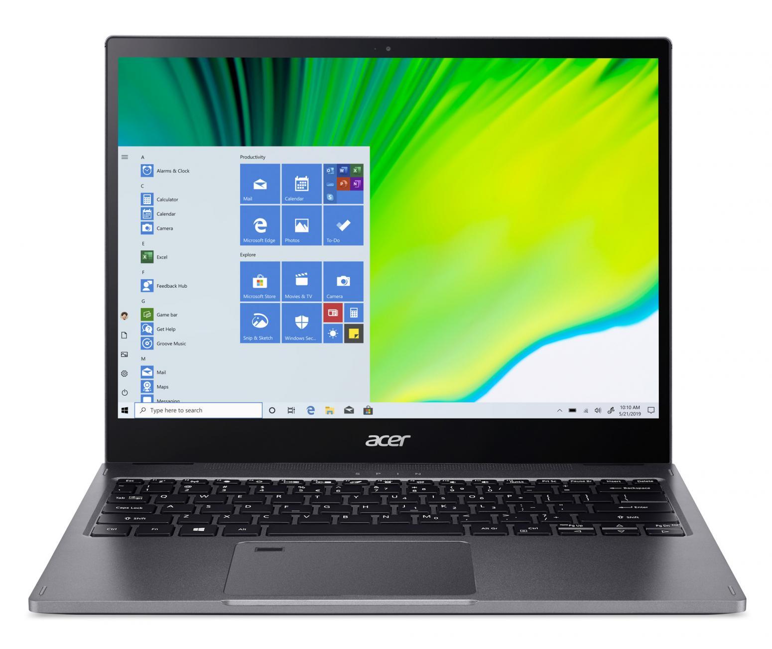 Ordinateur portable Acer Spin 5 SP513-54N-58VU Gris - QHD Tactile, Stylet - photo 4