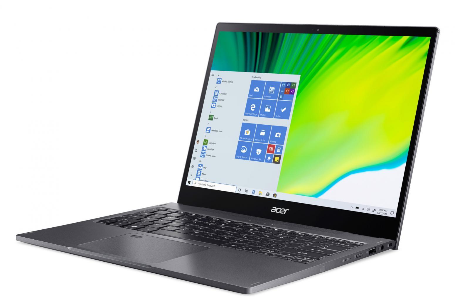 Ordinateur portable Acer Spin 5 SP513-54N-59ED Gris - QHD Tactile, Stylet - photo 5