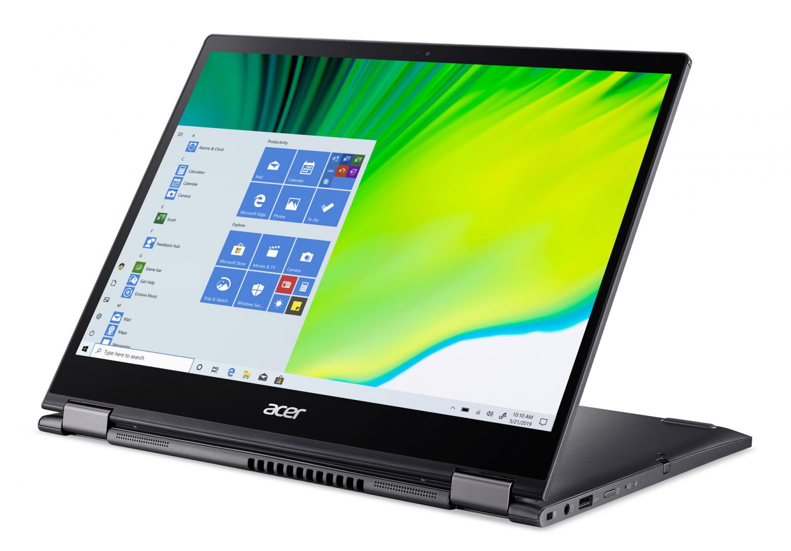 Ordinateur portable Acer Spin 5 SP513-54N-59ED Gris - QHD Tactile, Stylet - photo 6