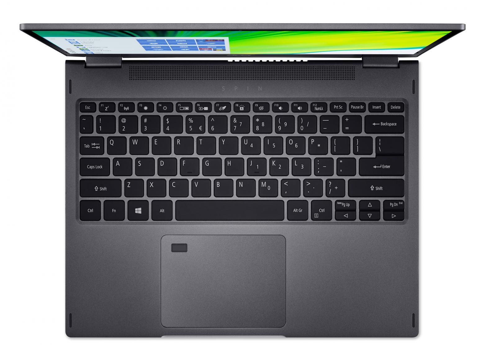 Ordinateur portable Acer Spin 5 SP513-54N-58VU Gris - QHD Tactile, Stylet - photo 7