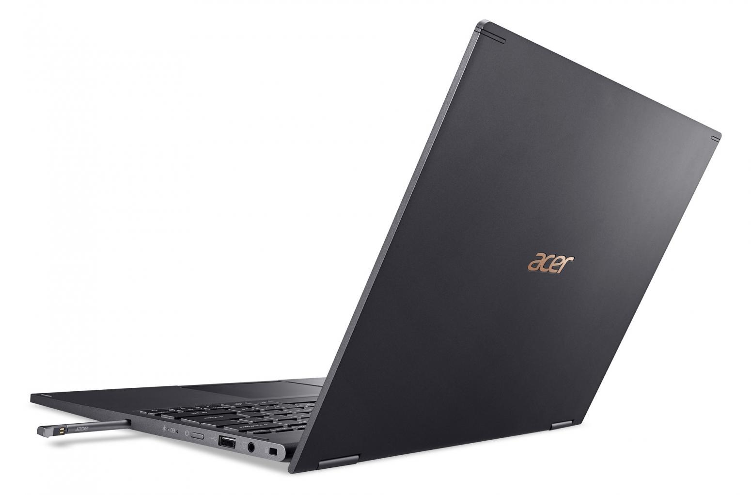 Ordinateur portable Acer Spin 5 SP513-54N-59ED Gris - QHD Tactile, Stylet - photo 9