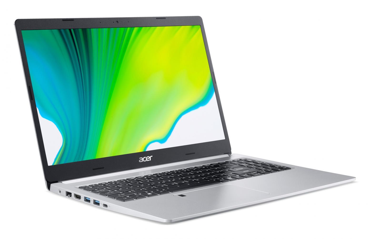 Image du PC portable Acer Aspire 5 A515-44-R622 Argent - Ryzen 7