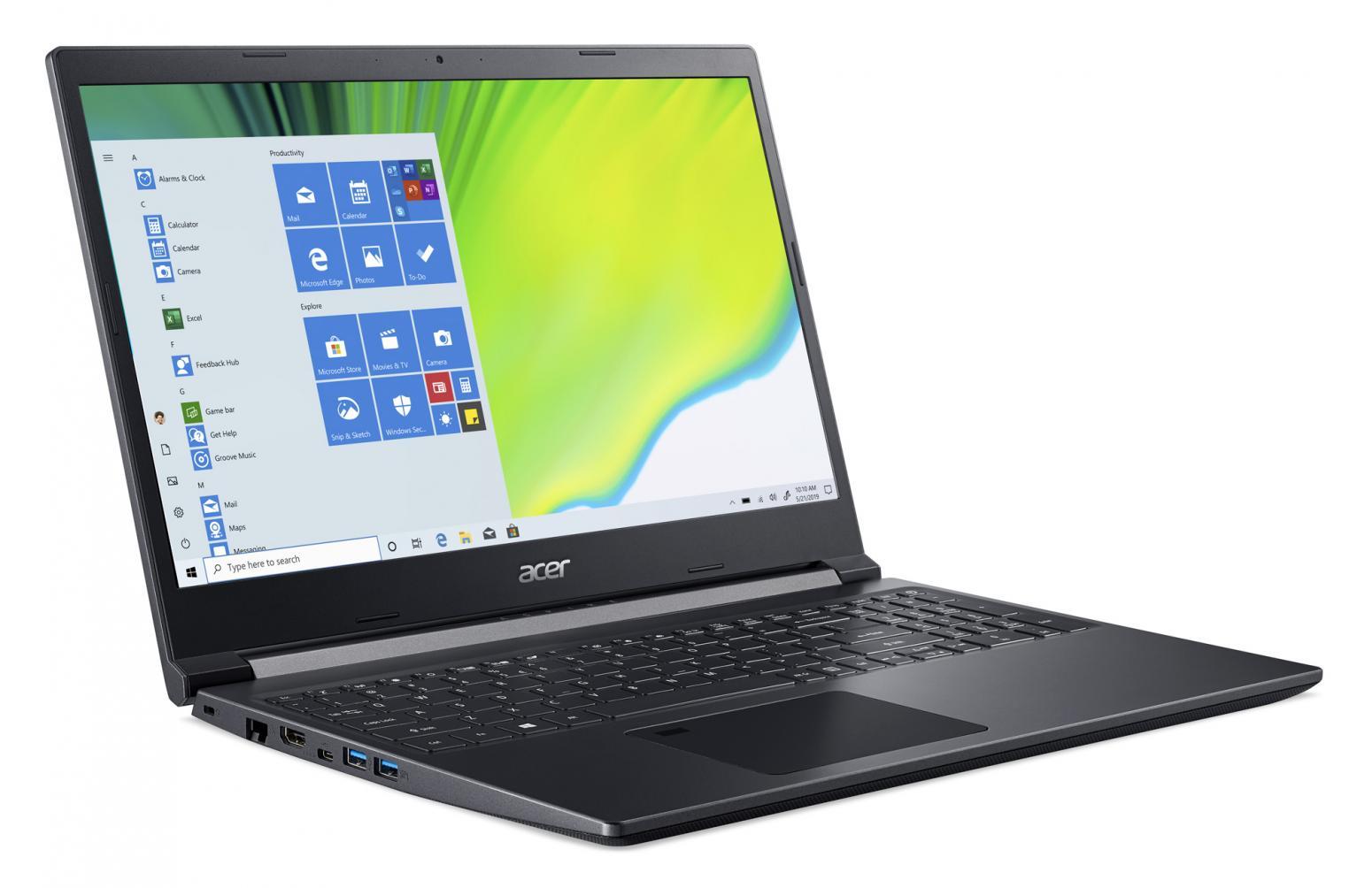 Image du PC portable Acer Aspire 7 A715-41G-R93Y - GTX 1650