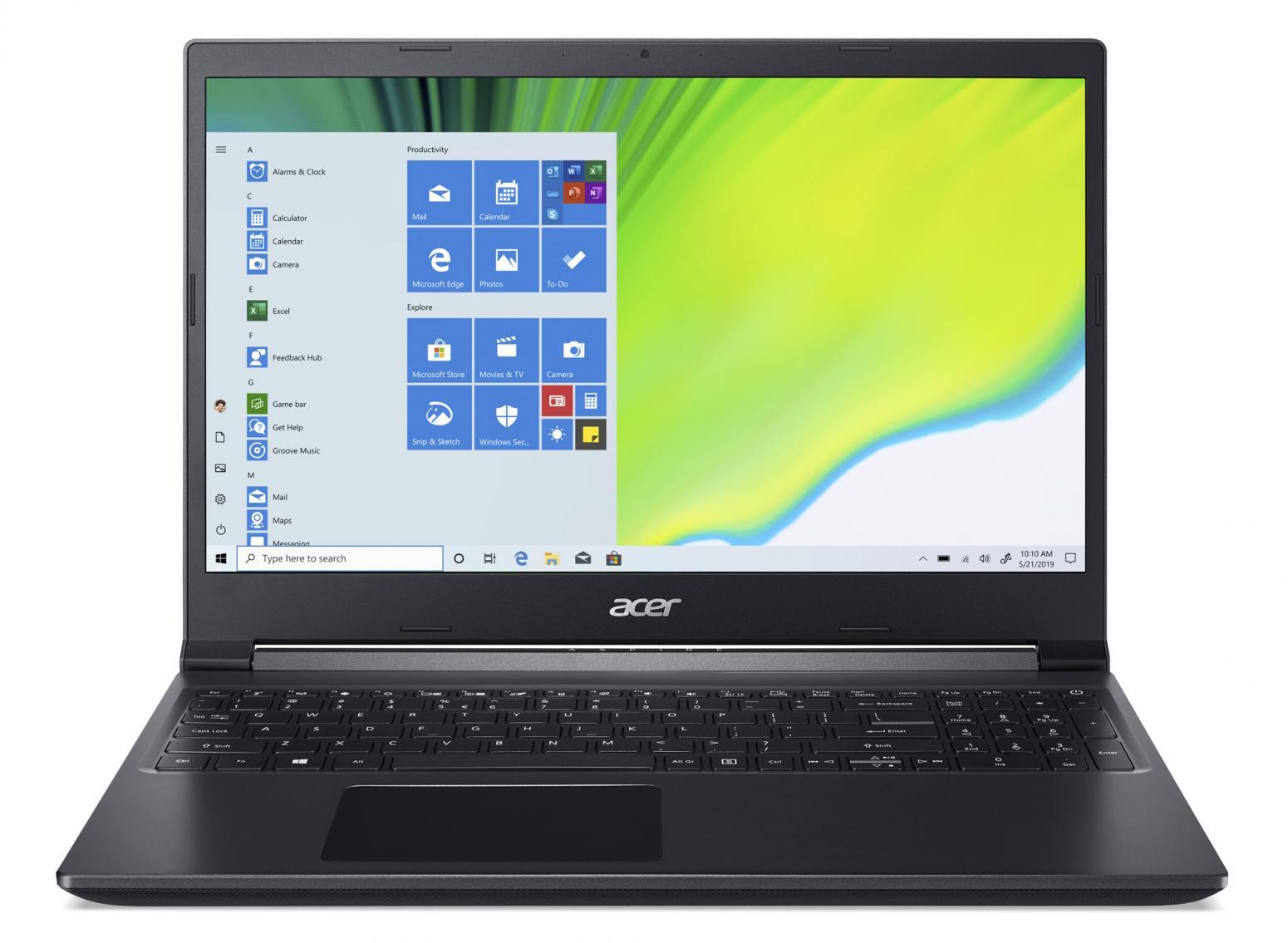 Ordinateur portable Acer Aspire 7 A715-41G-R93Y - GTX 1650 - photo 4