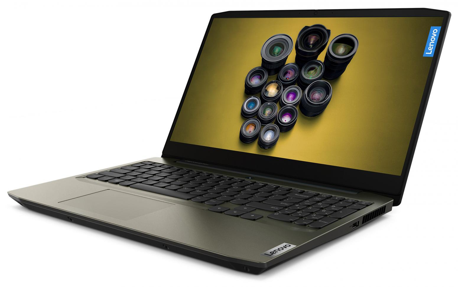 Ordinateur portable Lenovo  IdeaPad Creator 5 15IMH05 (82D4004WFR) Vert Kaki - GTX 1650 Ti, 144Hz - photo 2