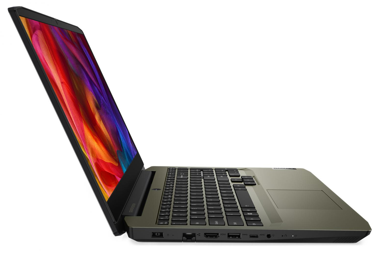 Ordinateur portable Lenovo  IdeaPad Creator 5 15IMH05 (82D4004WFR) Vert Kaki - GTX 1650 Ti, 144Hz - photo 5
