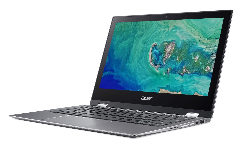 Ordinateur portable Acer Spin 1 SP111-34-P4J9 Gris - Tactile, Stylet - photo 4