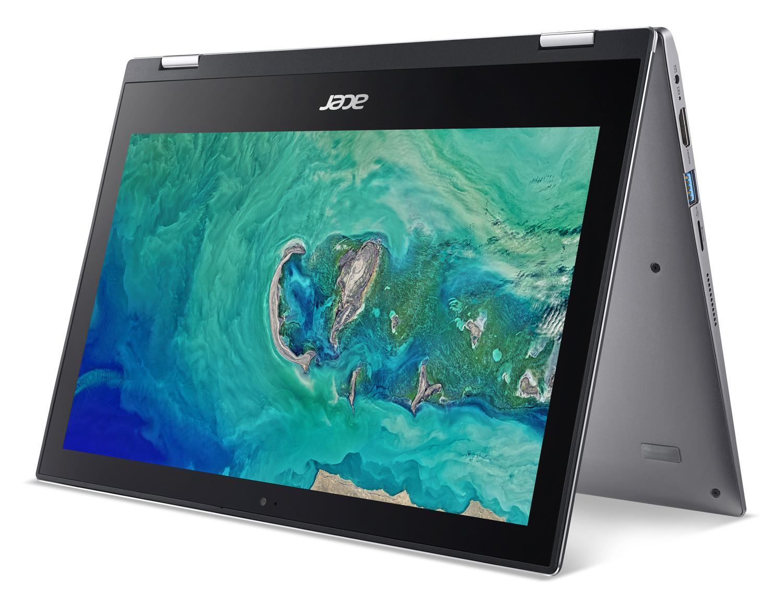 Ordinateur portable Acer Spin 1 SP111-34-P4J9 Gris - Tactile, Stylet - photo 6
