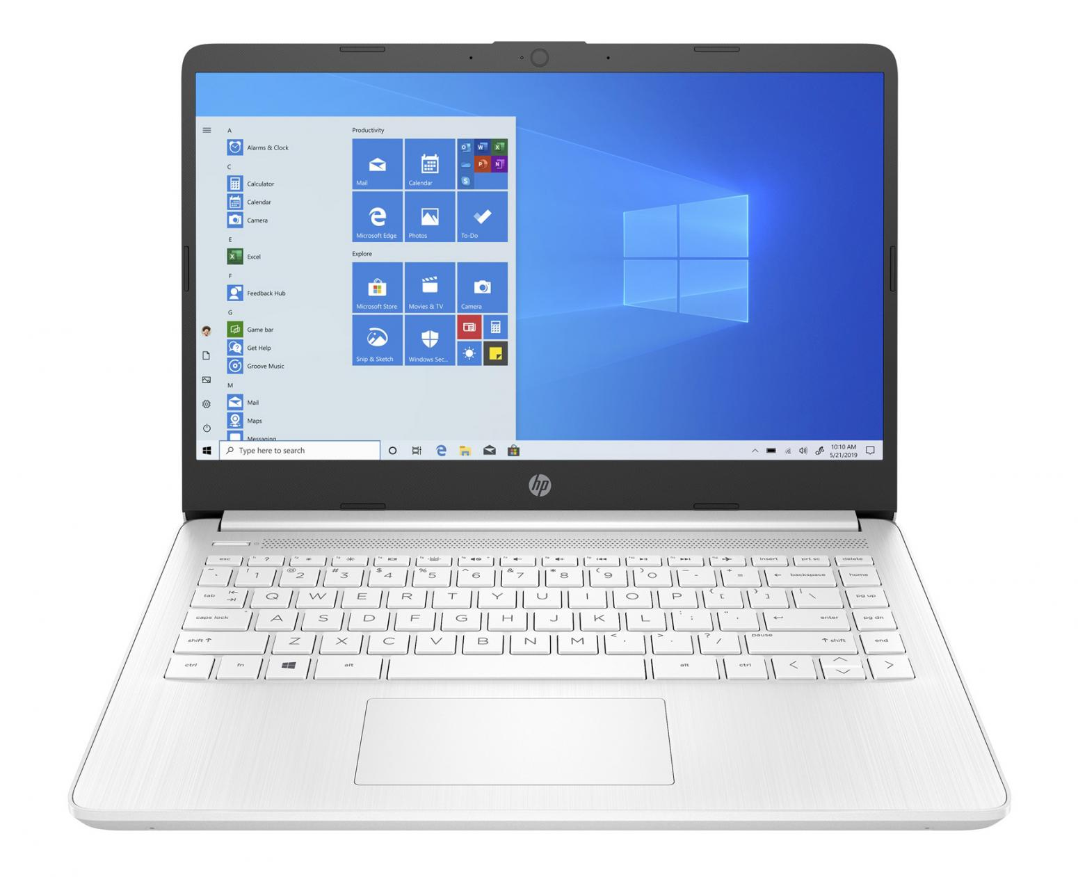 Image du PC portable HP 14s-fq0071nf Blanc