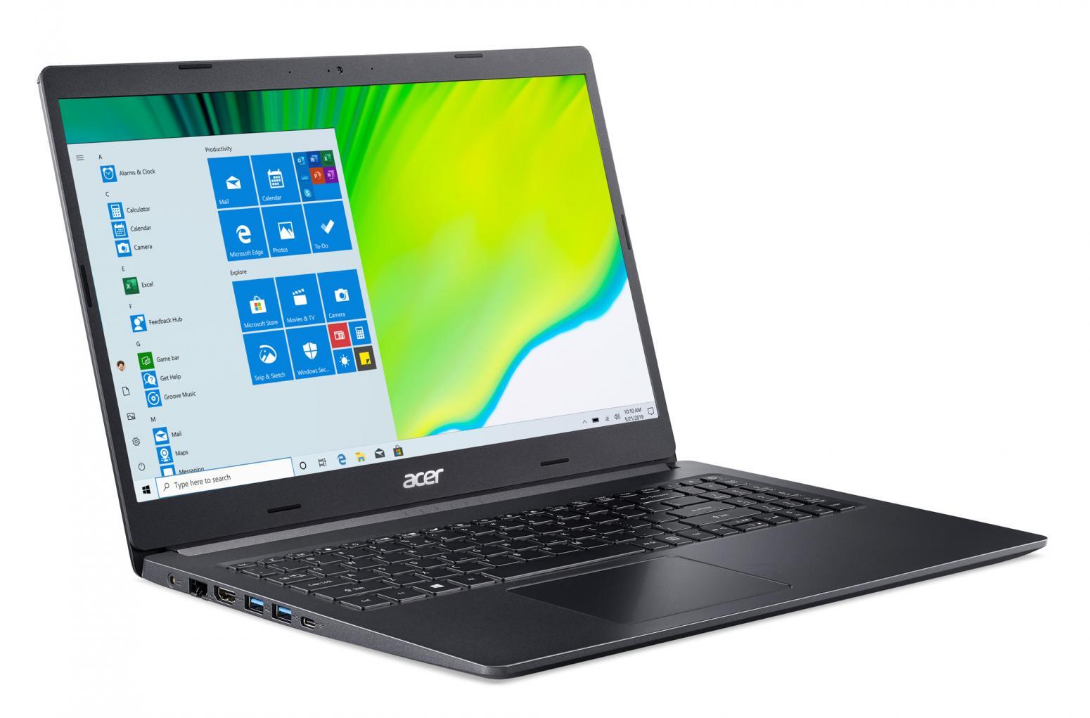 Image du PC portable Acer Aspire 5 A515-44-R3SR Noir - Ryzen 5