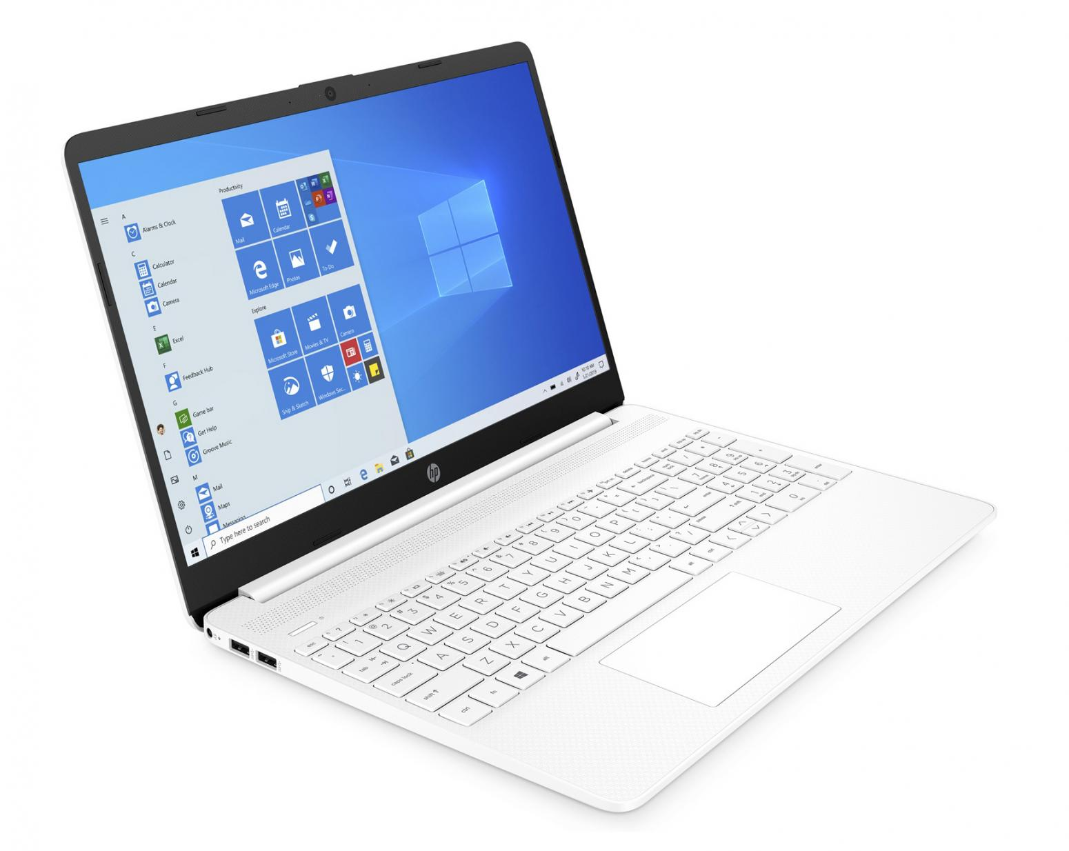 Image du PC portable HP 15s-eq1057nf Blanc - Ryzen 3