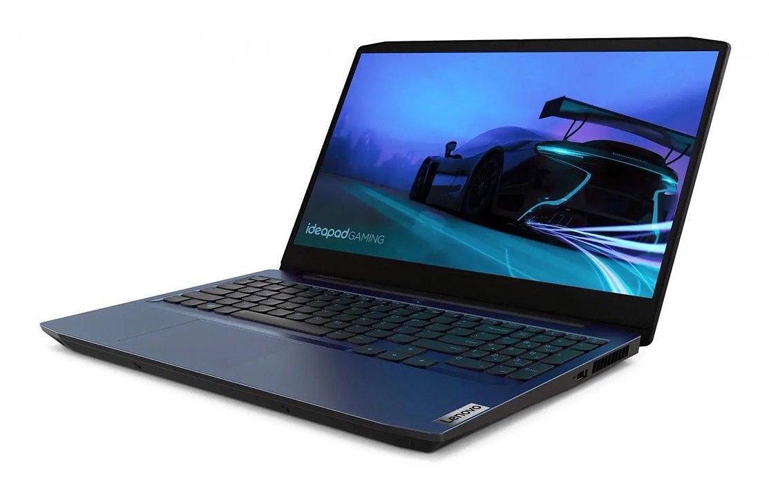 Ordinateur portable Lenovo IdeaPad Gaming 3 15ARH05 (82EY001LFR) Bleu - GTX 1650 - photo 2
