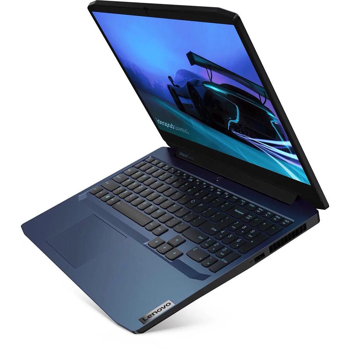 Ordinateur portable Lenovo IdeaPad Gaming 3 15ARH05 (82EY001LFR) Bleu - GTX 1650 - photo 4