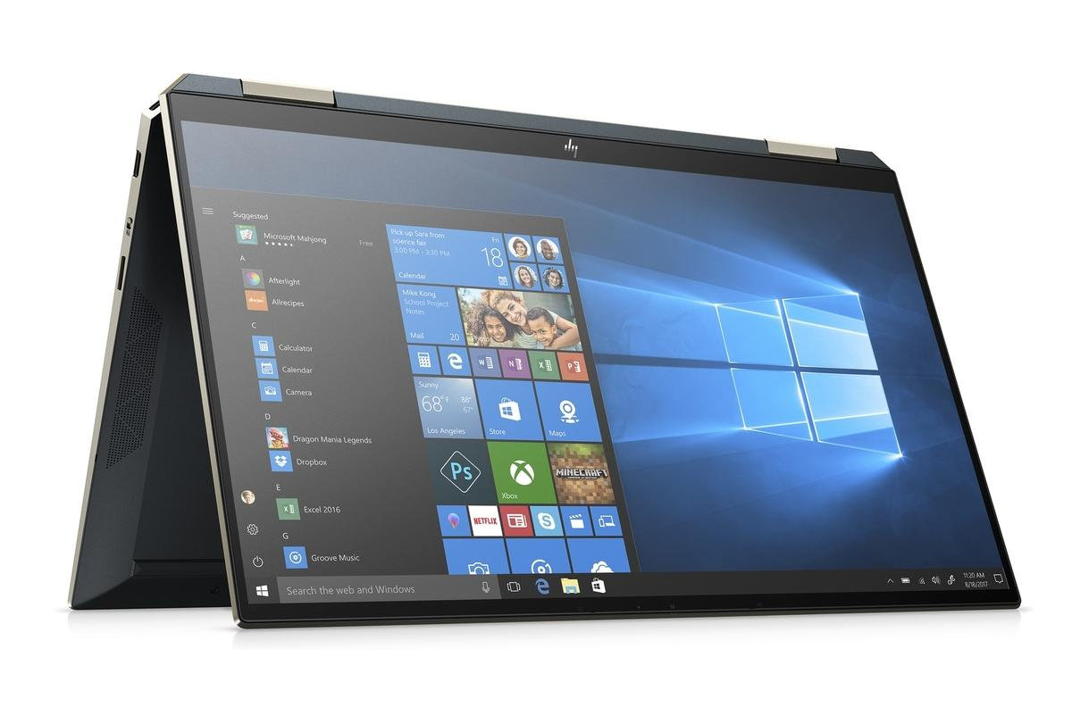 Image du PC portable HP Spectre x360 13-aw2000nf Bleu Noir - TB4, Iris Xe