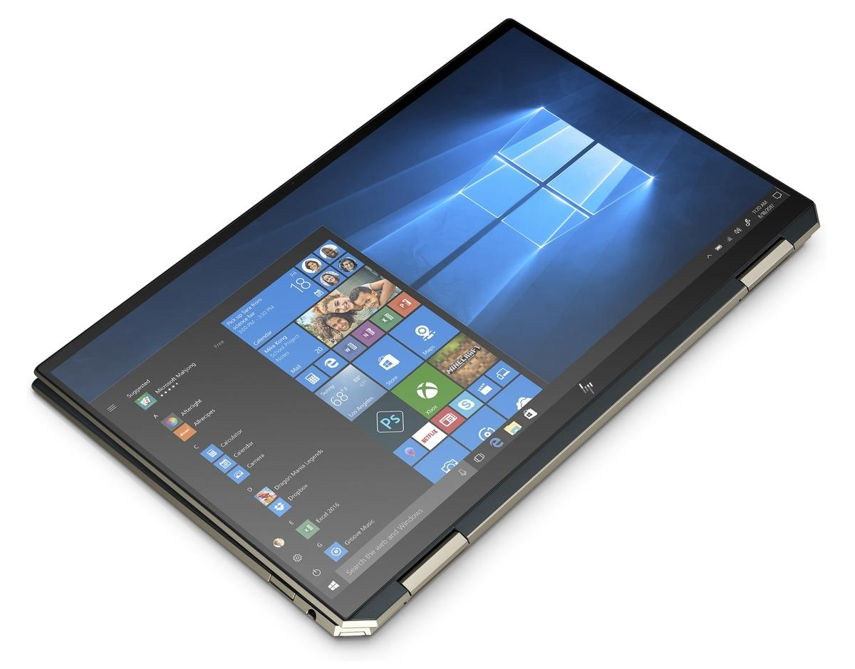 Ordinateur portable HP Spectre x360 13-aw2000nf Bleu Noir - TB4, Iris Xe - photo 4