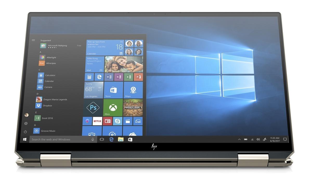 Ordinateur portable HP Spectre x360 13-aw2000nf Bleu Noir - TB4, Iris Xe - photo 5