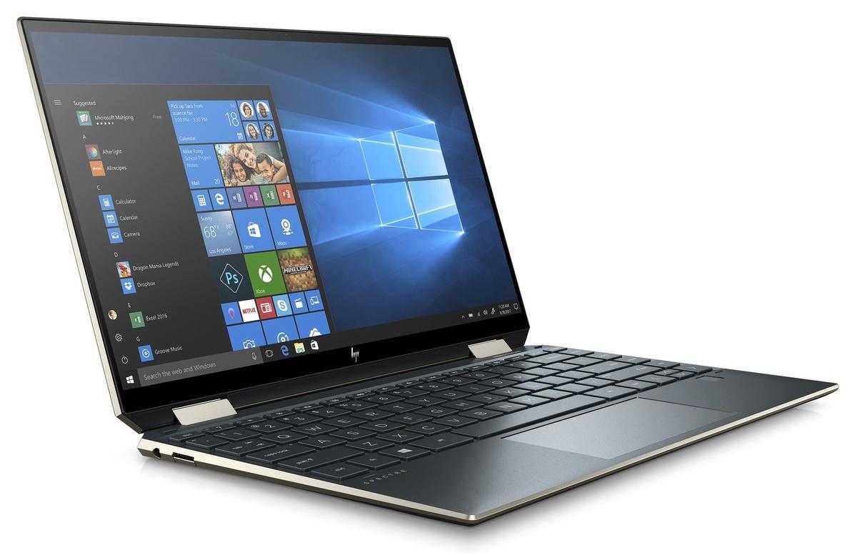 Ordinateur portable HP Spectre x360 13-aw2000nf Bleu Noir - TB4, Iris Xe - photo 9