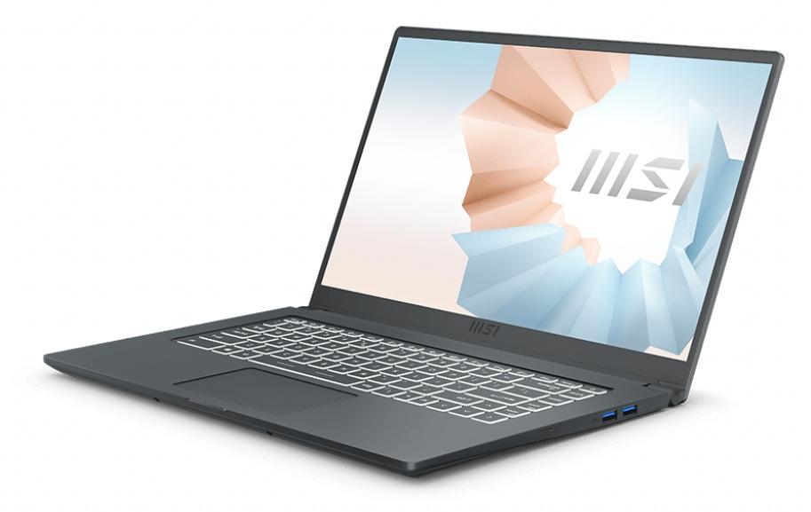 Image du PC portable MSI Modern 15 A11M-226FR Carbone