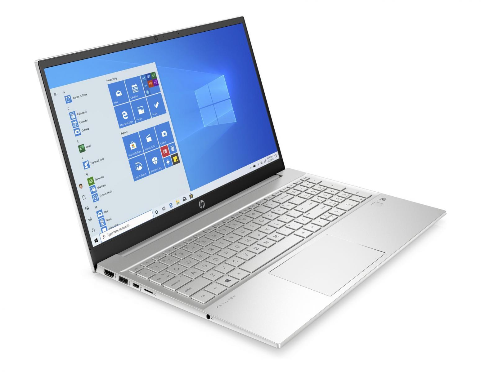 Image du PC portable HP Pavilion 15-eh0033nf Argent