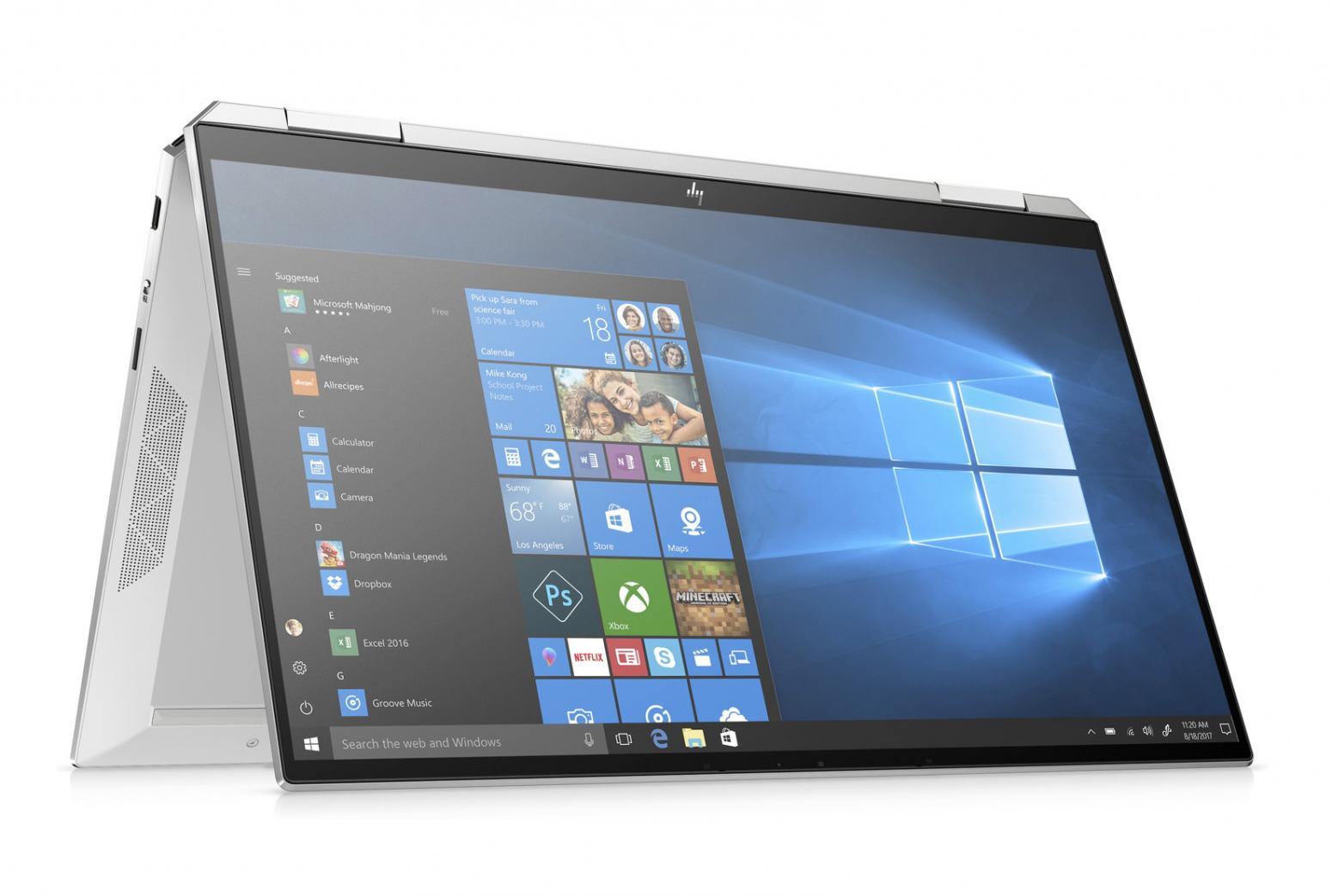 Image du PC portable HP Spectre x360 13-aw2002nf Argent - Iris Xe, Sure View