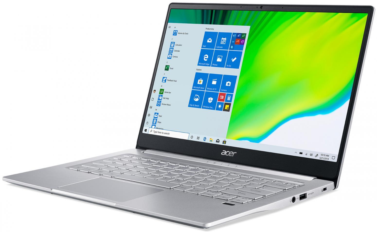 Ordinateur portable Acer Swift 3 SF314-59-56W5 Argent - photo 2