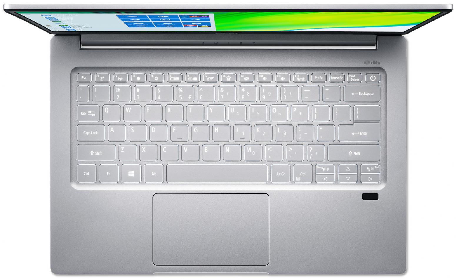 Ordinateur portable Acer Swift 3 SF314-59-56W5 Argent - photo 4
