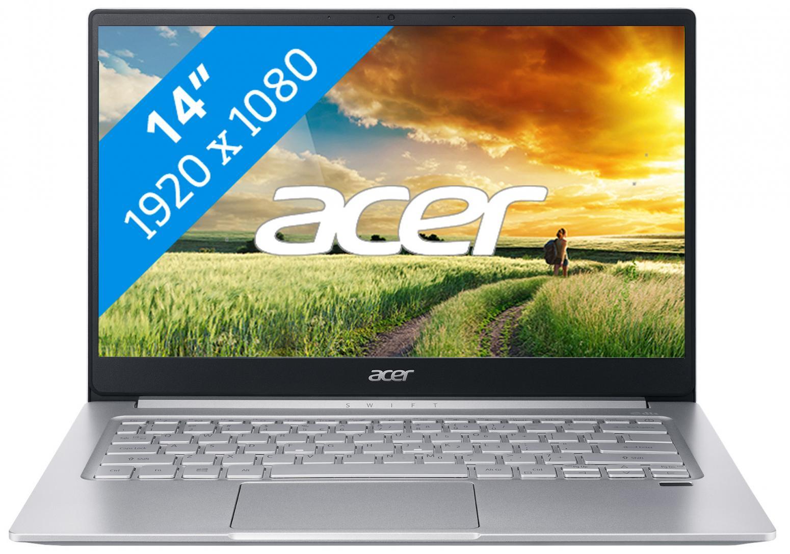 Ordinateur portable Acer Swift 3 SF314-59-56W5 Argent - photo 8