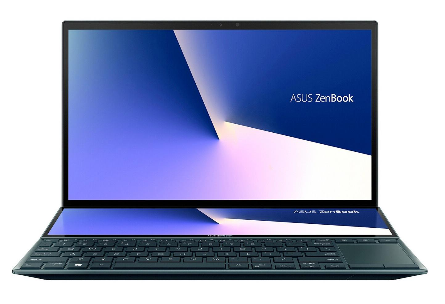 Ordinateur portable Asus ZenBook Duo UX482EG-HY142T Bleu/Noir - Tactile, MX450, ScreenPad Plus - photo 2