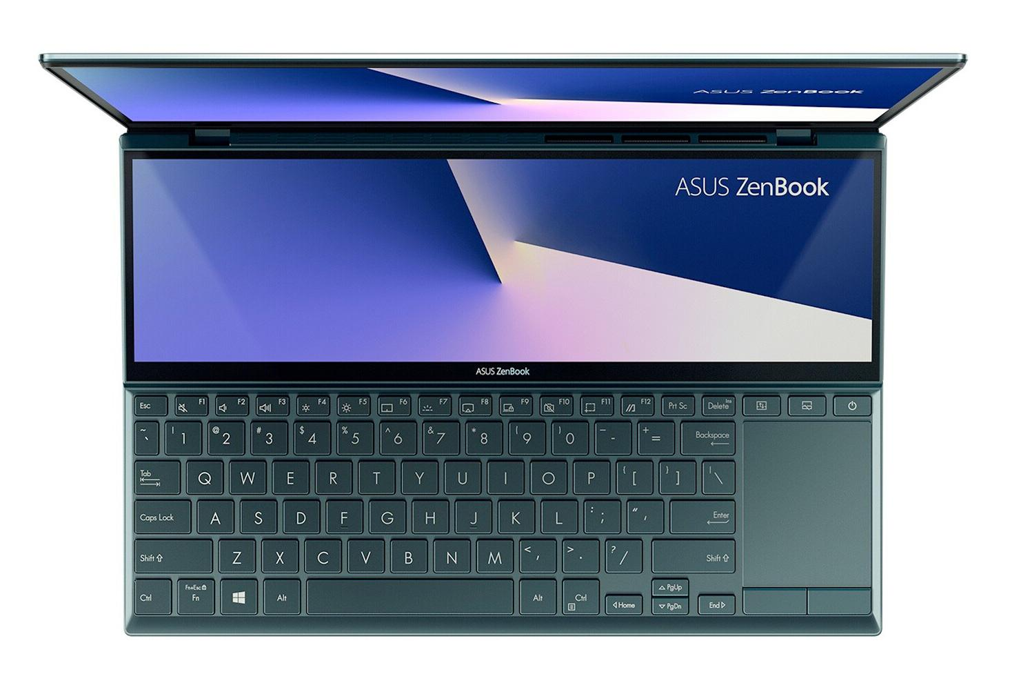 Ordinateur portable Asus ZenBook Duo UX482EG-HY142T Bleu/Noir - Tactile, MX450, ScreenPad Plus - photo 3