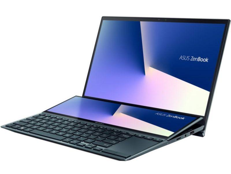 Ordinateur portable Asus ZenBook Duo UX482EG-HY142T Bleu/Noir - Tactile, MX450, ScreenPad Plus - photo 5