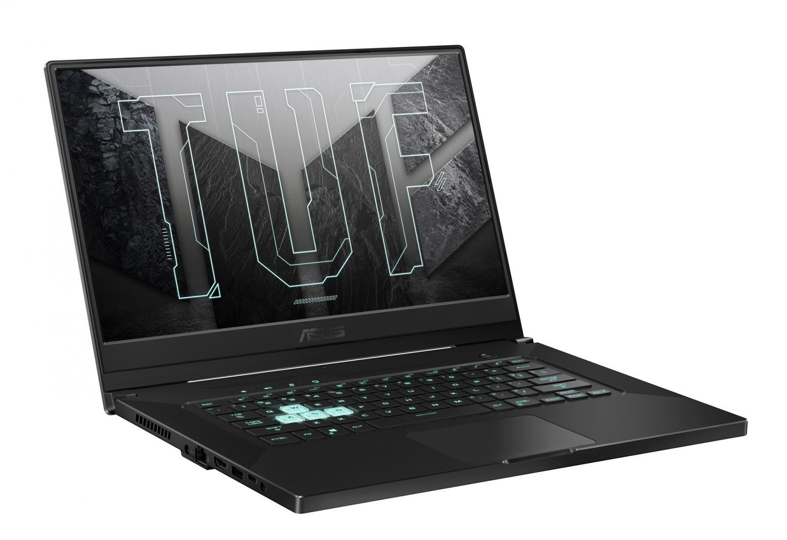 Image du PC portable Asus TUF Dash F15 516PM-AZ066 Gris - RTX 3060, 240Hz, Sans Windows