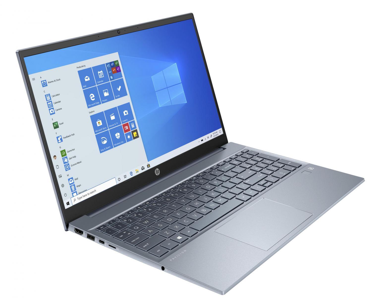 Image du PC portable HP Pavilion 15-eh0005nf Bleu - Ryzen 7 Octo Core