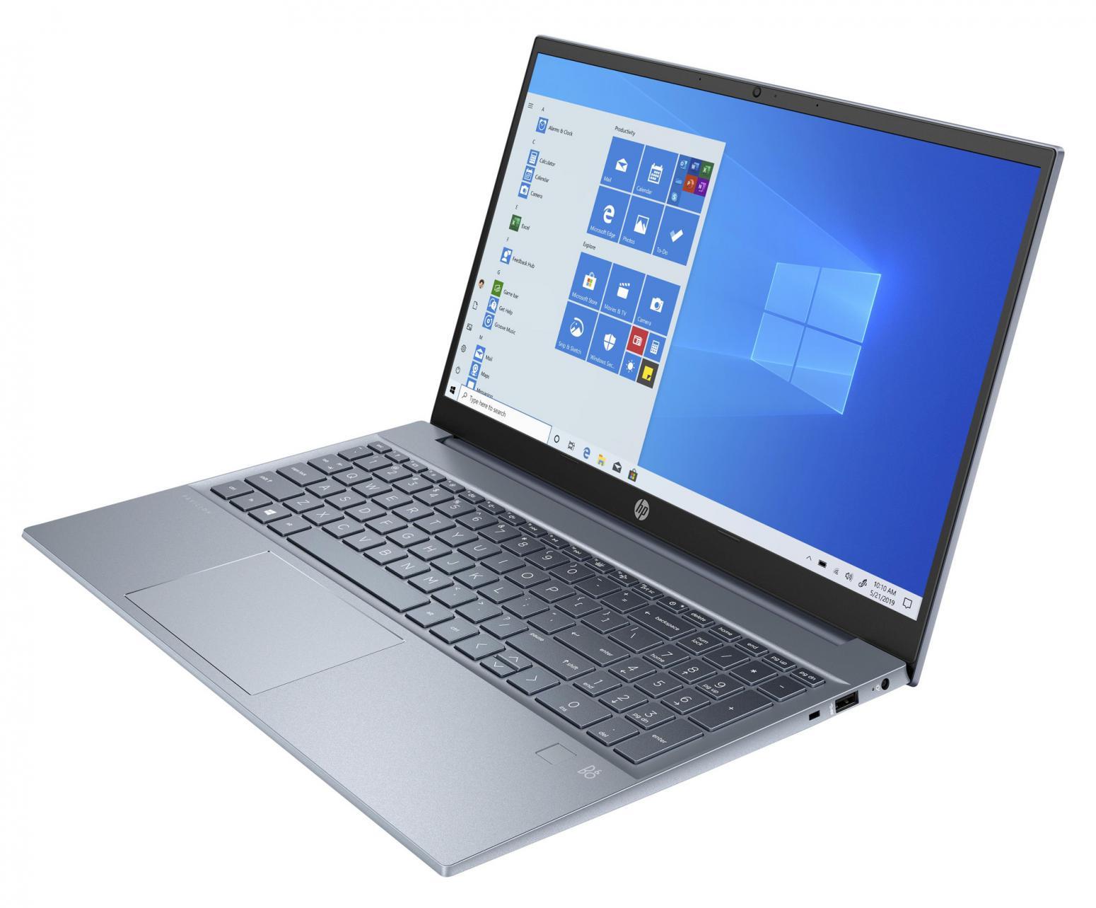 Ordinateur portable HP Pavilion 15-eh0005nf Bleu - Ryzen 7 Octo Core - photo 3