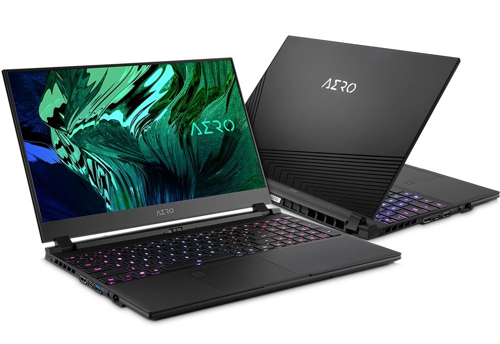 Ordinateur portable Gigabyte Aero 17 HDR YC-9FR4760SPP Noir - GeForce RTX 3080, 4K, i9 - photo 1