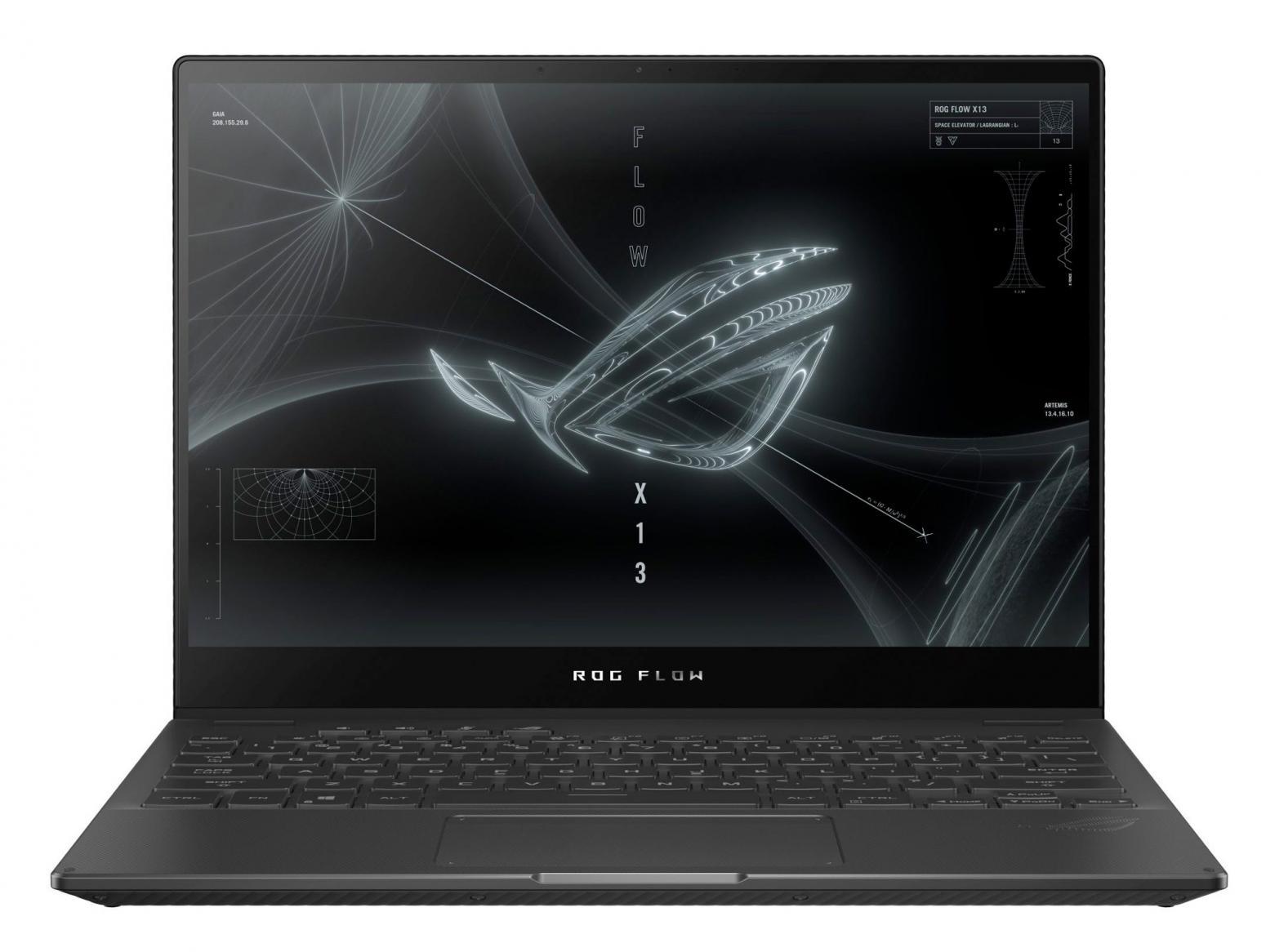 Ordinateur portable Asus ROG Flow X13 GV301QH-K5161T Noir - 4K 16:10 Tactile, GTX 1650 - photo 3