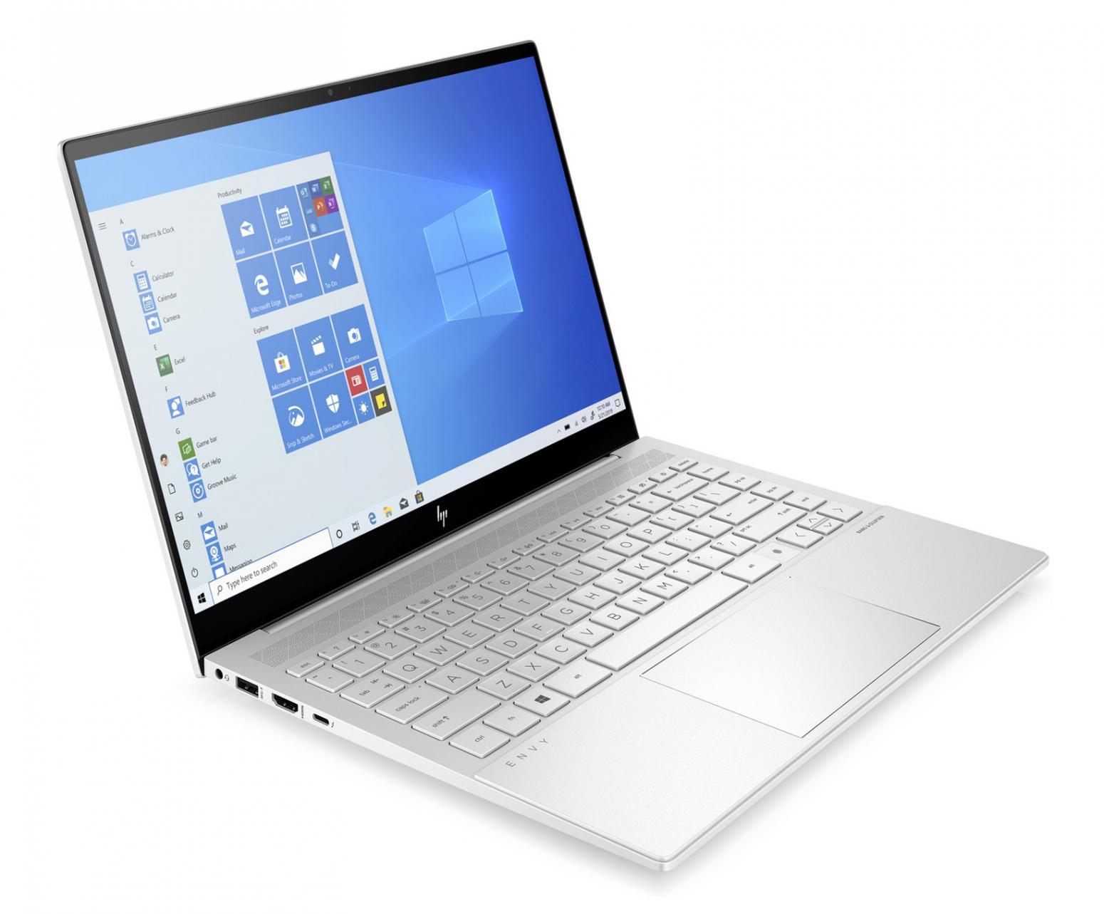 Image du PC portable HP Envy 14-eb0007nf Argent - GTX 1650 Ti Max-Q