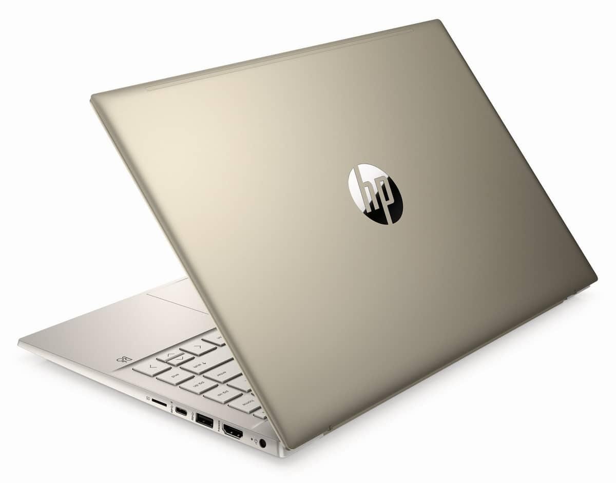 Image du PC portable HP Pavilion 14-dv0048nf Or