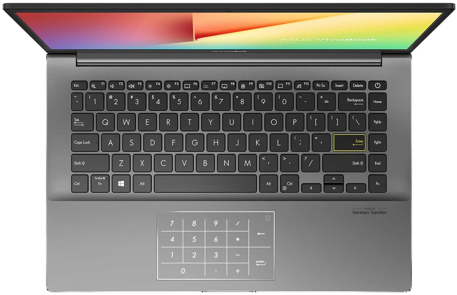 Ordinateur portable Asus VivoBook S433IA-HM849T Gris/Noir - NumPad - photo 2