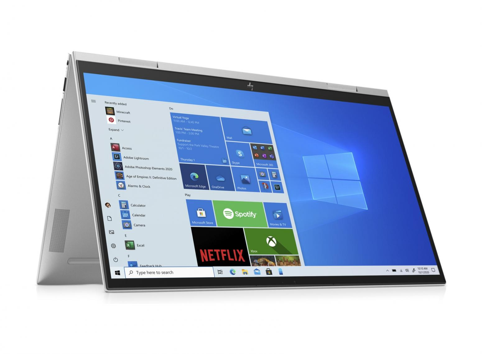 Image du PC portable HP Envy x360 15-es0033nf Argent - Tactile