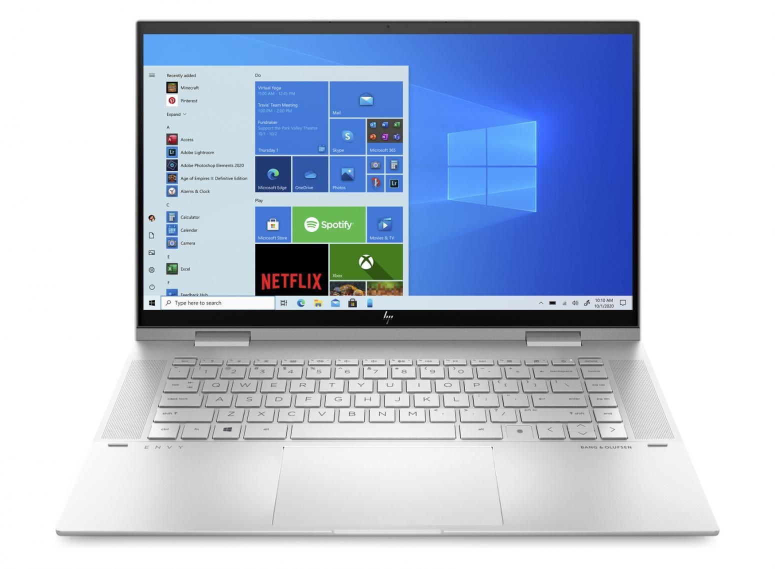 Ordinateur portable HP Envy x360 15-es0033nf Argent - Tactile - photo 3