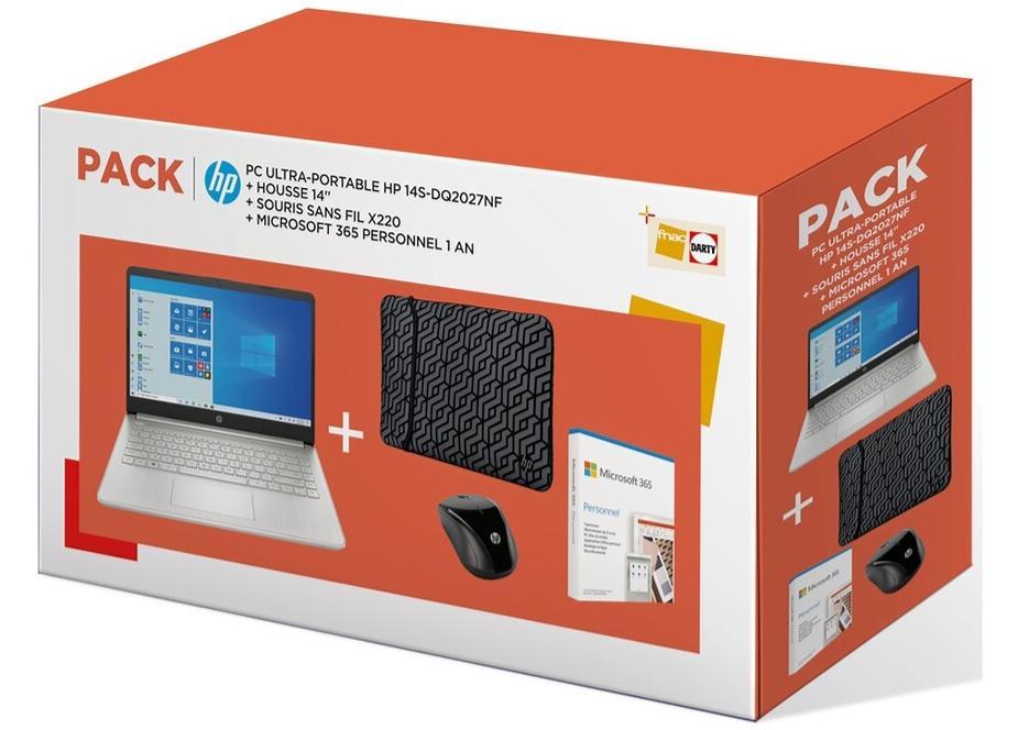 Image du PC portable HP 14s-dq2027nf Argent