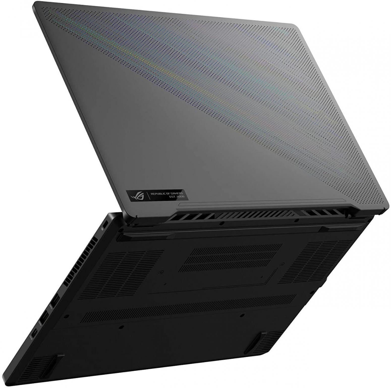Image du PC portable Asus ROG Zephyrus G14 GA401QM-HZ235T Gris - 144Hz, Ryzen 9, RTX 3060