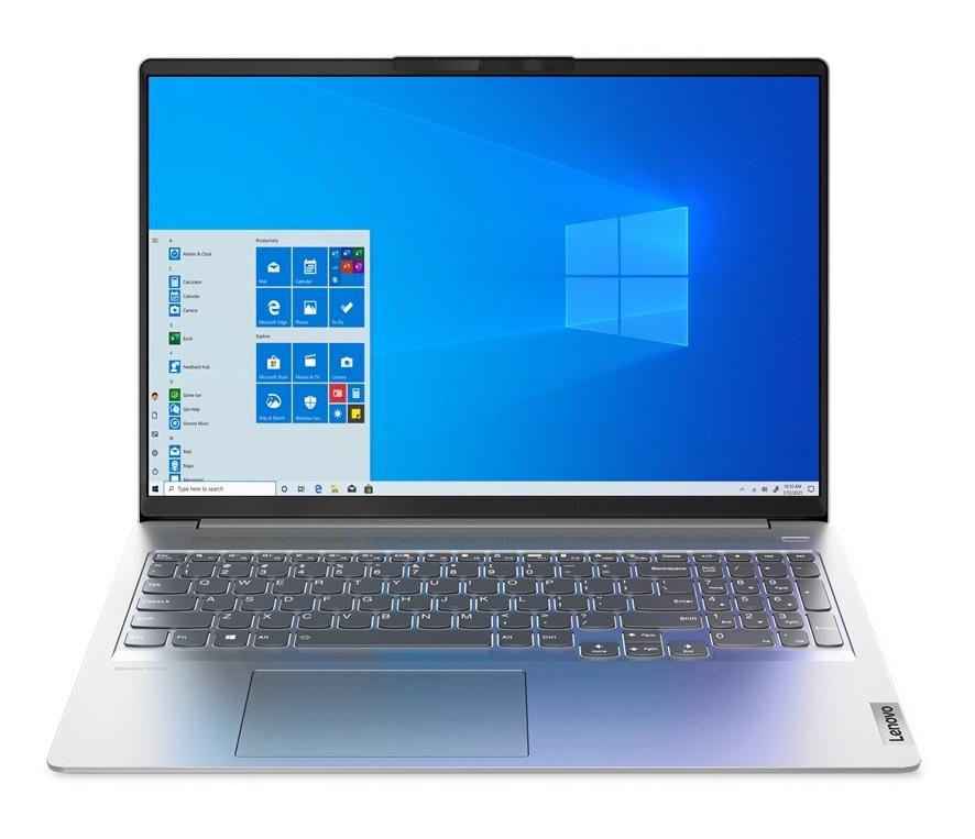 Ordinateur portable Lenovo IdeaPad 5 Pro 16IHU6 (82L90016FR) Argent - WQXGA 120Hz, MX450 - photo 2
