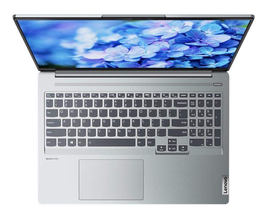 Ordinateur portable Lenovo IdeaPad 5 Pro 16IHU6 (82L90016FR) Argent - WQXGA 120Hz, MX450 - photo 4